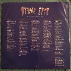 Record two credits and lyrics