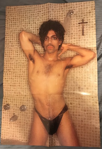 Infamous shower poster issued with all original copies of Controversy