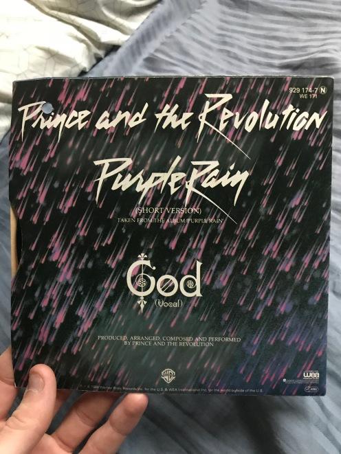 Purple Rain single credits