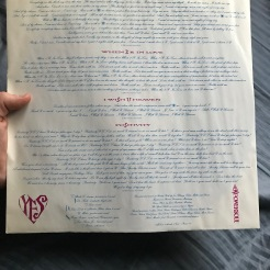 Lovesexy inner sleeve; side two lyrics and credits