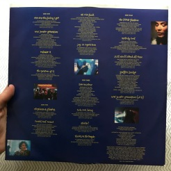 Record two inner sleeve; credits and lyrics for full album