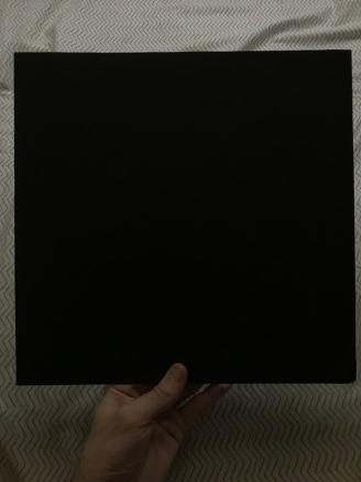 Plain black inner sleeve (both sides)