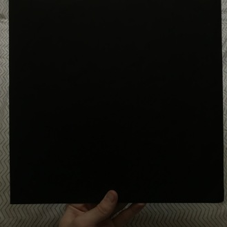 Plain black inner sleeve (both sides)