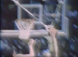Game-clinching rebound and shot