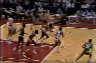 The Rockets run their own fast break